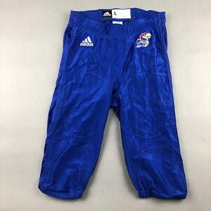 New Adidas ClimaCool 2014 Kansas Jayhawks Stock NCAA Football Men's Pants