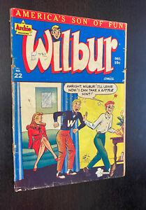 WILBUR COMICS #22 (Archie Comics 1948) -- Golden Age -- G/VG
