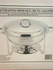 More details for sunnex chafing dish food warming serving dish