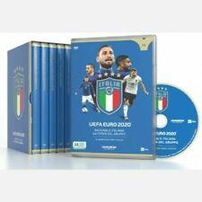 COFANETTO 5 DVD GAZZETTA ITALIA CAMPIONE D'EUROPA EURO 2020 COLLEZIONE COMPLETA