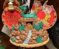 Disney Seven Dwarfs Mine Train Mickey Ear Hat Christmas Ornament NWT
