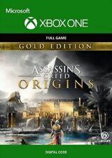 Assassins Creed: Origenes-Gold Edition región libre juego clave (Xbox One)