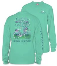 New Kids Small Simply Southern Commit Your Way To The Lord T-shirt Youth Ss