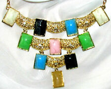 Unbranded Lucite Statement Costume Necklaces & Pendants