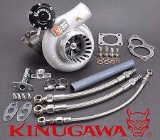 """Kinugawa Satosi Billet Turbocharger 3"""" Anti Surge TD06SL2-25G 4G63T EVO 3 VR-4"""