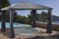 6mm Polycarbonate Roof Gazebo Sojag Verona - 10x12