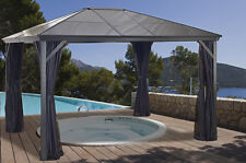 6mm Polycarbonate Roof Gazebo Sojag Verona - 10x12
