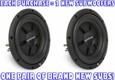 """(2) ROCKFORD FOSGATE 800W 10"""" Prime Stage 2 Shallow Car Subwoofers 