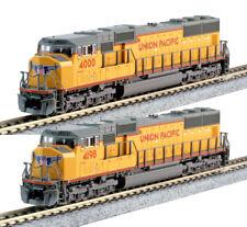 Kato N Scale SD70M 2 Locomotive Set UP #4000 #4198 DC DCC Ready 1767607 1767608