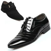 Fashion Men's Casual Oxfords Formal Business Party Leather Shoes Pointed Toe