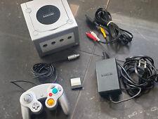 Nintendo GameCube - KONSOLE - Silver / Silber Game Cube Komplettset - TOP!