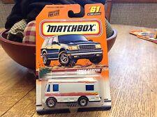 Matchbox Great Outdoors Series Truck Camper   # 61