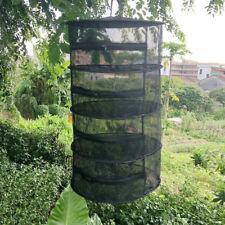 Hanging Zippered Dry Rack Grow Net 4/8 Layer Hydroponics Herb Drying Mesh