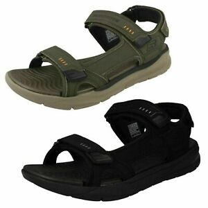 MENS SKECHERS RELAXED FIT RELONE- SENCO 66067 CASUAL SUMMER SANDALS SHOES SIZE
