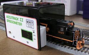 MRT ACCUTRACK 2 Model Railroad Speedometer II - Newest Version MODELRRSUPPLY