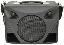QTX Delta 50 DT50 Portable Desktop PA USB SD FM Bluetooth & Microphones FREE P&P