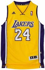 NBA JERSEY KOBE BRYANT 24 LA LAKERS YELLOW Basketball Swingman shirt