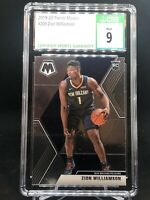 2019 Panini Mosaic #209 ZION WILLIAMSON True Rookie RC CSG 9 MINT! PSA/BGS
