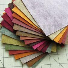 21 Pcs 6''X6'' Colorful Felt Sheets Non Woven Fabric DIY Sewing Scrapbook Crafts