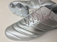Adidas Copa 20.1 FG EF8316 Silver Men's Size 9.5 Soccer Cleats