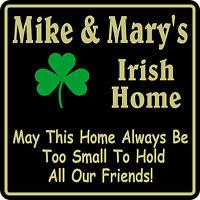 Personalized Irish Pub Bar Beer Home Decor Gift Plaque Sign #15 Custom USA Made