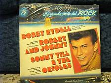 BOBBY RYDELL-ROBERT AND JOHNNY-SONNY TILL & THE ORIOLES