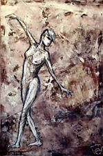 XainGO Nicole female nude painting by todd v - QAE 4is