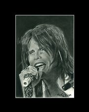Steven Tyler Aerosmith singer-songwriter drawing from artist image picture art