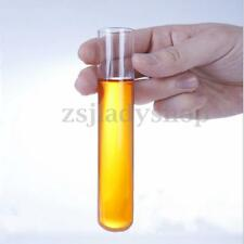 5Pcs 12mmx100mm Pyrex Borosilicate Glass Culture/Test Blowing Tubes Lab Supplies