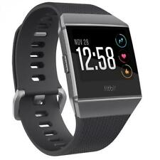FITBIT IONIC FITNESS SMART WATCH ACTIVITY TRACKER CHARCOAL GREY/ SILVER GREY