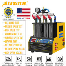 Autool Ct160 Petrol Car Fuel Injector Tester Cleaner Heating Cleaning Machine