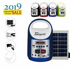 Portable Generator Solar Panel Power Inverter Electric Generator Kit Light 2020