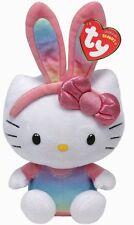 TY Hello Kitty 41017 Hello Kitty Pâques lapin Rainbow