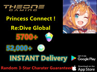 [EN] Princess Connect ! Re: Dive Global Starter account 5700+Gems Android/IOS-