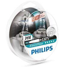 NEW H4 PHILIPS X-treme Vision +130% 12342XV+S2 Headlight bulbs 12V P43t-38 Duo