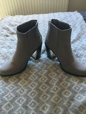 New Look Grey Boots 6
