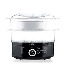Electric Food Steamer Vegetable Meat Rice Steaming Cooker Bowl Cooking