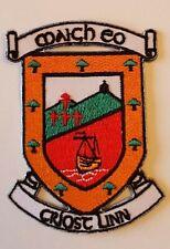Mayo County GAA Gaelic Hurling Football iron on/ sew embroidered patch badge