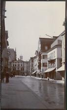 Suisse, Rorschach, rue et maisons, 1911, Vintage citrate print vintage citrate p