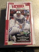 🔥 2000 Upper Deck Victory Football Sealed Box 36 Packs Tom Brady Rookie RC!!?🔥