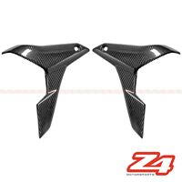 2011-2016 GSR 750 Front Side Radiator Cover Panel Cowling Fairing Carbon Fiber