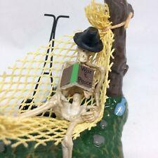 Dept 56 Lazy Bones 810634 Halloween Village Skeleton Vulture with Box Retired