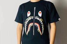 Au Stock Bape t shirt shark Tee Ape street wear  Unisex top