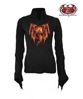 Spiral Spellbinder Dragon Langarm Gothic Shirt S/L - Neu