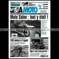 LA VIE DE LA MOTO LVM N°261 ★ TRIPORTEUR 125 PEUGEOT ★ CACTUS SHOP SALON 1999