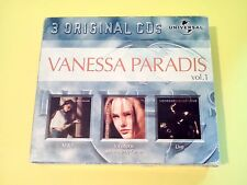 COFFRET 3 CD VANESSA PARADIS ORIGINAL VOLUME 1 - M & J, VARIATIONS..., LIVE