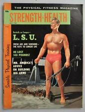 Vintage Sports STRENGTH and HEALTH July 1960