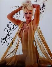 Mamie Van Doren Signed 11x14 Photo Nude Art Playboy OC Dugout Hologram C Auto