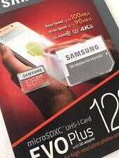 Brand New SAMSUNG 128gb micro sd card Class 10 4k HD New SDXC Inc Adapter