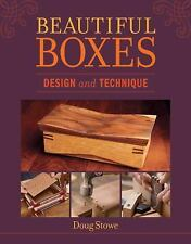 Beautiful Boxes:Design and Technique by Doug Stowe:Design-Instruction- BRAND NEW
